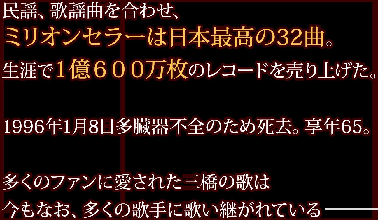 三橋美智也プロフィール3